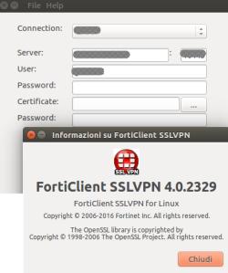 Forticlient SSLVPN for Ubuntu/Debian